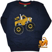 """Детский стильный батник """"Super Car"""" , трикотажный (байка), для мальчика от 1-8 лет"""
