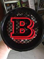 Эмблема Brabus RED в решетку