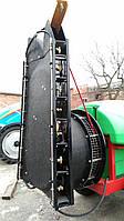 Колонна вентиляторная типа ОС (стекловолокно, 8 + 8 форсунки инжекторные противоветренные снаружи шахты)