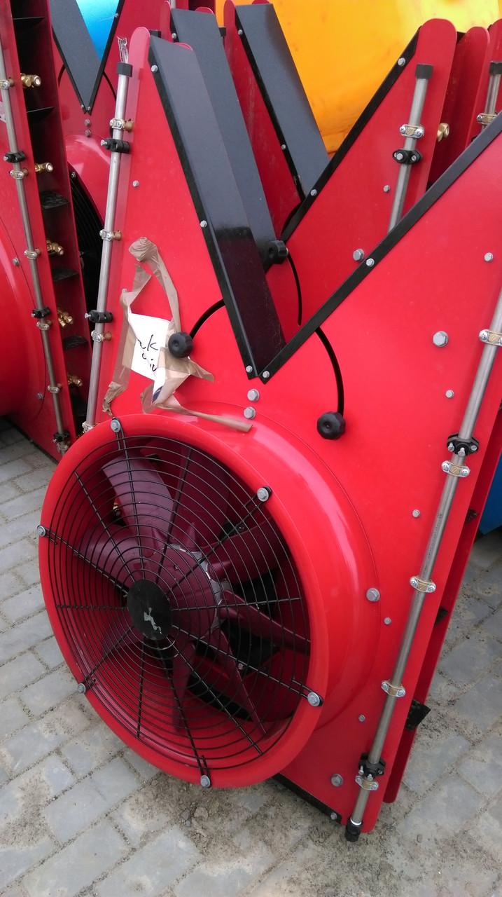 Колона вентиляторна типу К (метал, 8 + 8 інжекторні форсунки щілинні всередині шахти)