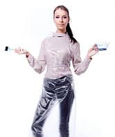 Фартуки полиэтиленовые, комплект 50шт., одноразовые, 75х120 см