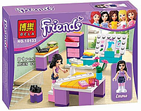 "Конструктор аналог LEGO Friends 3936 Bela ""Дизайн-студия Эммы"" 79 деталей арт.10133 АВ KK"