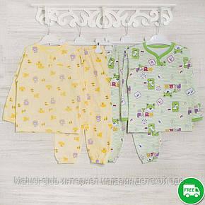 Детские пижамы для девочки 110-116-см, теплый трикотаж, 2208фуп, в наличии 92,104,116 Рост, фото 2