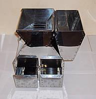 Делитель проб зерна ДПЗ-3 (нержавейка) по ISO