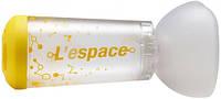 Спейсер Air Liquide l'espace з маскою для дітей 2 - 6 років, 240 мл, Італія, фото 1