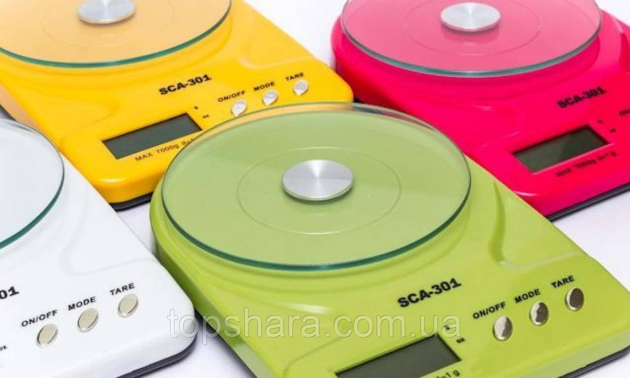 Кухонные весы SCA-301