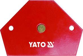 Магнитная струбцина для подготовительно-сборочных работ перед сваркой YT-0866