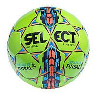Мяч футзальный мини-футбольный  SELECT Futsal Master IMS зелёный