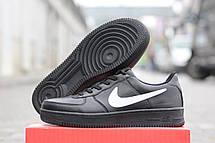 Мужские черны кроссовки Nike Air Force Зима! 46р, фото 3