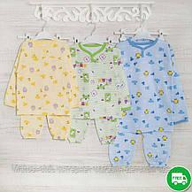 Детские пижамы для мальчика _110_116см, теплый трикотаж, 2208фуп, в наличии 92,104,116 Рост, фото 3