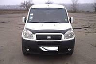"""Дефлектор капота Fiat Doblò 2000-2010 """"SIM"""" темный"""