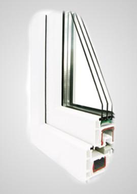 Металлопластиковые окна REHAU ECOSOL-Design