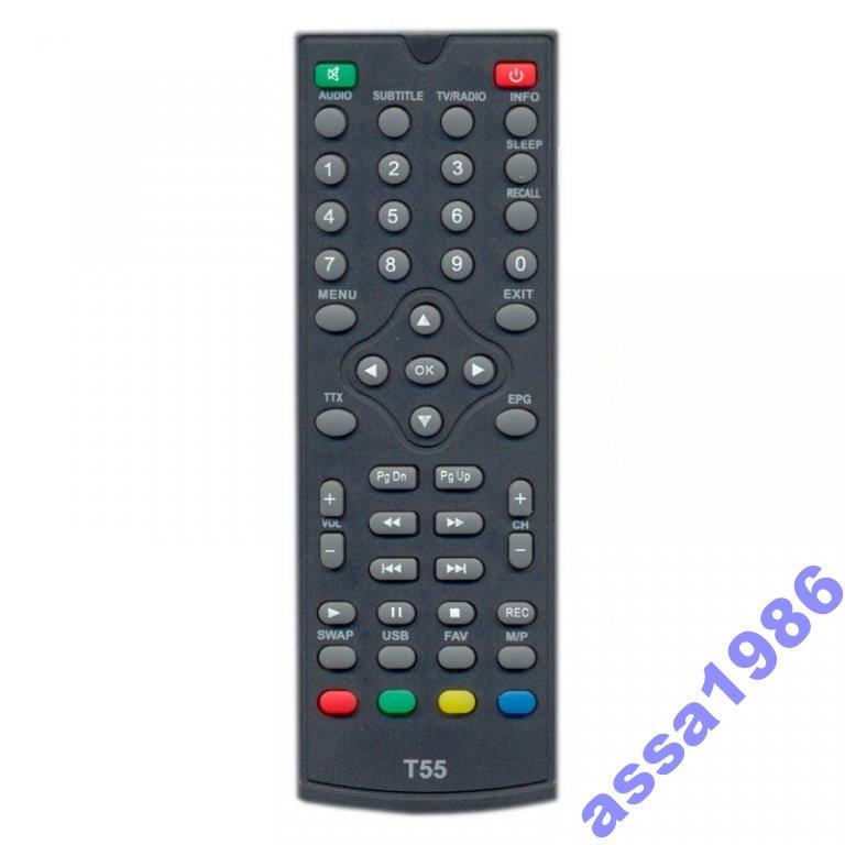 Пульт DVB-T2 ресиверів World Vision T35/T55/T55D - Інтернет магазин MORAVIJA SAT TV Plus в Ивано-Франковской области