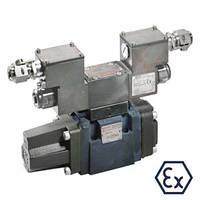 Гидрораспределители Bosch Rexroth  непрямого действия, без электрической обратной связи 4WRZ…XE (Рексрот)
