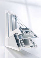 Окна металлопластиковые 6-ти камерная система REHAU Geneo