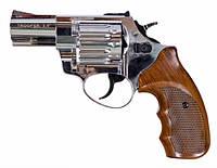 "Револьвер под патрон Флобера, Trooper 2.5"" цинк сатин пластик/под дерево, флобер, револьвер"