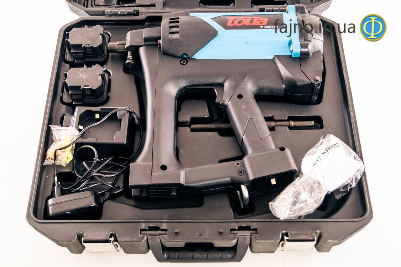 Газовый монтажный пистолет Toua GSN40D (для фасадных работ)