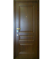 Входные двери 308 темный орех Квартира тм Арма