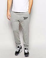 Спортивные штаны Reebok, рибок серые, ф3547