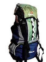 Рюкзак туристический ELEN FANCY на 65 литров (зеленого цвета)