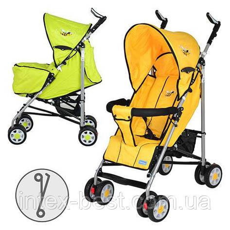 Детская коляска-трость BAMBI (ARIA S1-3) Y (Желтый), фото 2