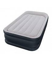 Надувная кровать Intex 67732 со встроенным насосом 220V, 191 х 99 х 43 см Односпальная