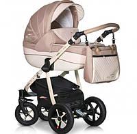 Детская коляска Verdi Pepe Eco Plus 3 в 1, бежевая