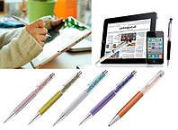Ручка со стразами Crystal  + стилус