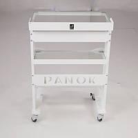 Столик медицинский ПАНОК-1 прямоугольный