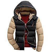 Мужская зимняя куртка Stand Collar CC6570
