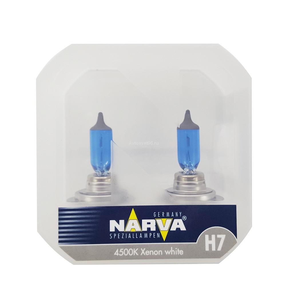 Narva Range Power White 4500K H7 85W