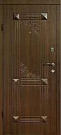Входные двери 312 темный орех Квартира тм Арма