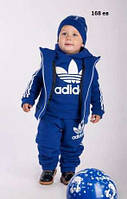 Детский костюм тройка теплый 168 ЕВ