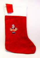 Новогодний сапожок Деда Мороза/ Санта Клауса-12 шт.