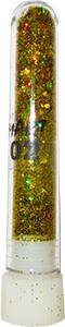 Блёстки (брокард) mART 02 золото голографическое