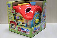 Домик логика сортер, детские развивающие игрушки, коробка 21-20-19см