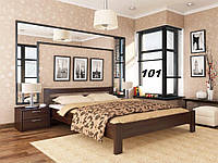 Кровать Рената двуспальная Бук Щит 101 (Эстелла-ТМ)