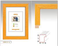 Рамка деревянная DRW D 30x40 желтая