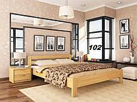 Кровать Рената двуспальная Бук Щит 102 (Эстелла-ТМ)