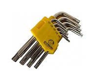 Набор Г-образный ключей Сталь TORX
