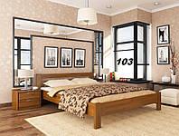 Кровать Рената двуспальная Бук Щит 103 (Эстелла-ТМ)