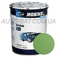Автоэмаль однокомпонентная автокраска алкидная 325 Светло-зелёная Mobihel, 1 л
