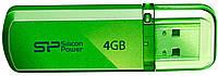 USB флешка SiliconPower Helios 101 4Gb Green ( SP004GBUF2101V1N )