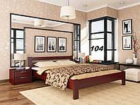 Кровать Рената двуспальная Бук Щит 104 (Эстелла-ТМ)