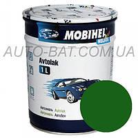 Автоэмаль однокомпонентная автокраска алкидная 330 Зелёная Mobihel, 1 л