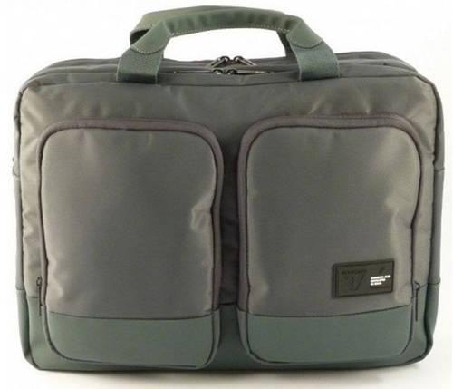 Серая нейлоновая сумка с отделением для ноутбука 15,6' Roncato Princeton 2281/62