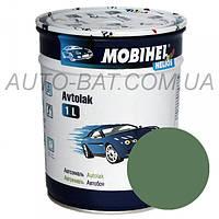 Автоэмаль однокомпонентная автокраска алкидная 373 Серо-зелёная Mobihel, 1 л