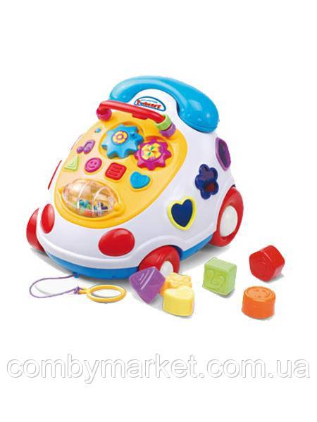 Музыкальный телефон сортер Baby Mix PL-215203