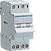 Переключатель I-0-II с общим выходом сверху, 2-пол., 25А/230В, 2м SFT225