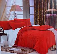 """Комплект однотонного постельного белья Евро стандарта """"East Comfort"""""""
